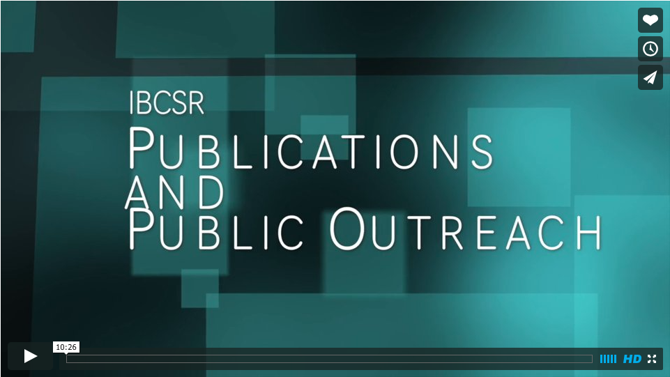 Publications and Outreach